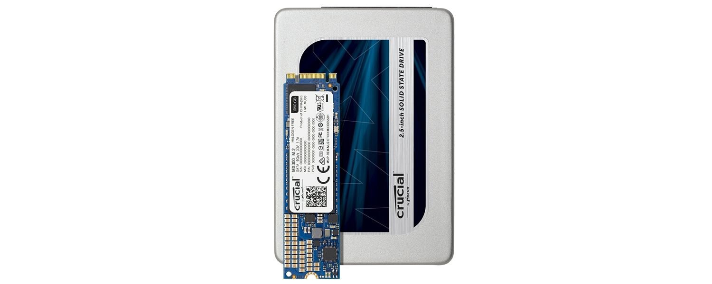 Linha MX300 de SSDs Crucial