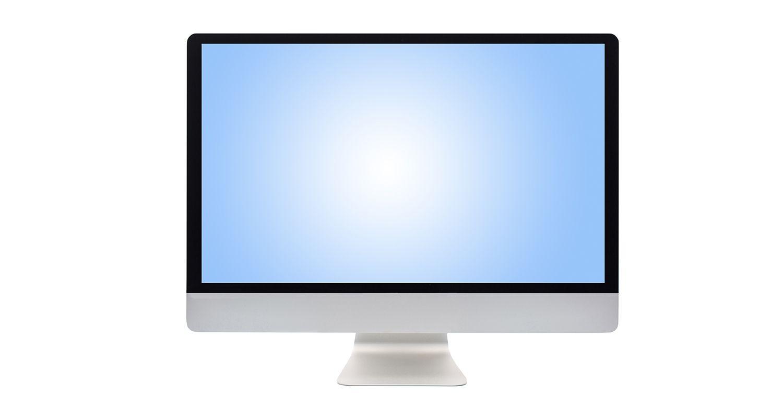 Monitor do computador.