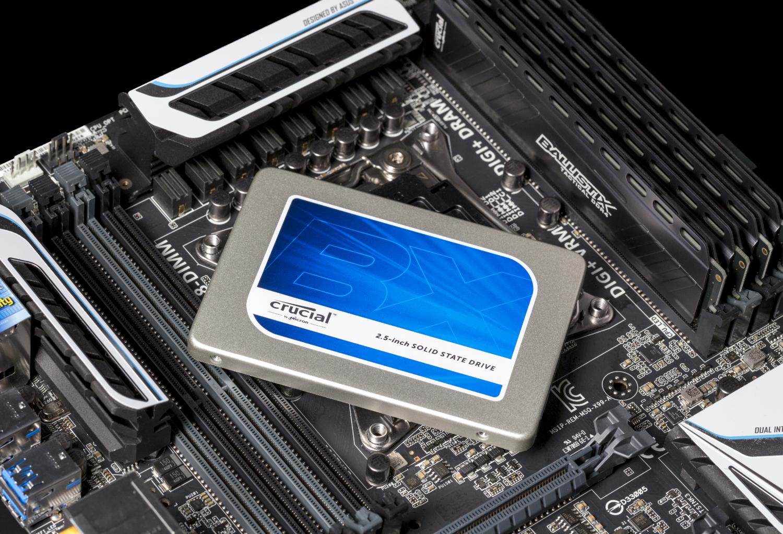 SSD BX200 2,5 polegadas MB 2 Image Crucial